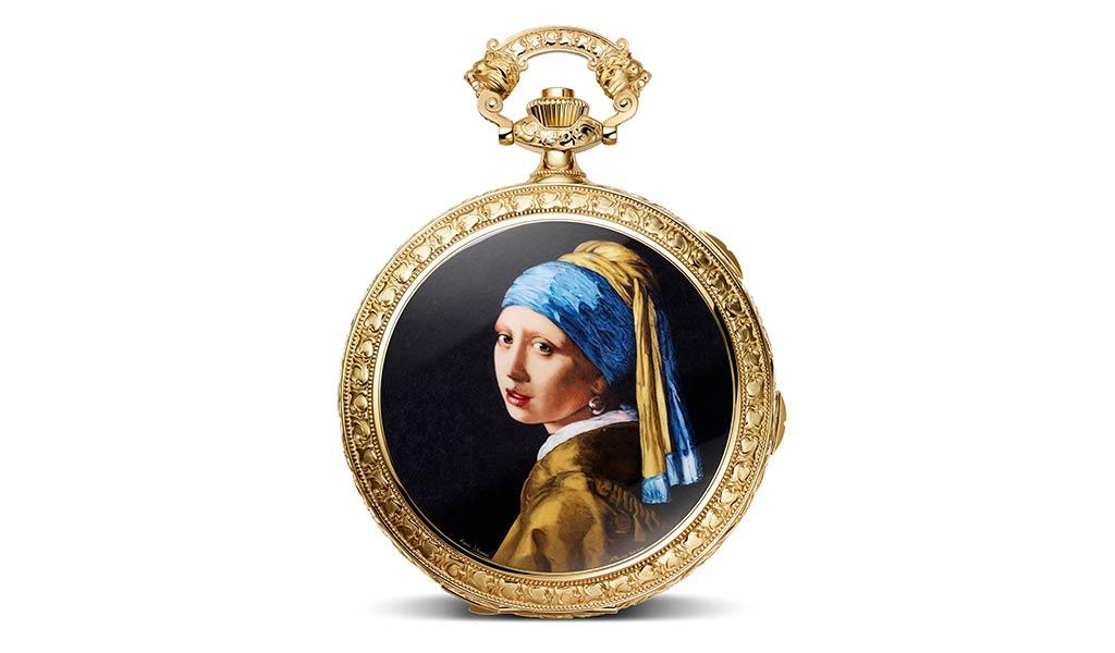 Модель карманных часов Les Cabinotiers Westminster Sonnerie - «Посвящение Яну Вермееру»