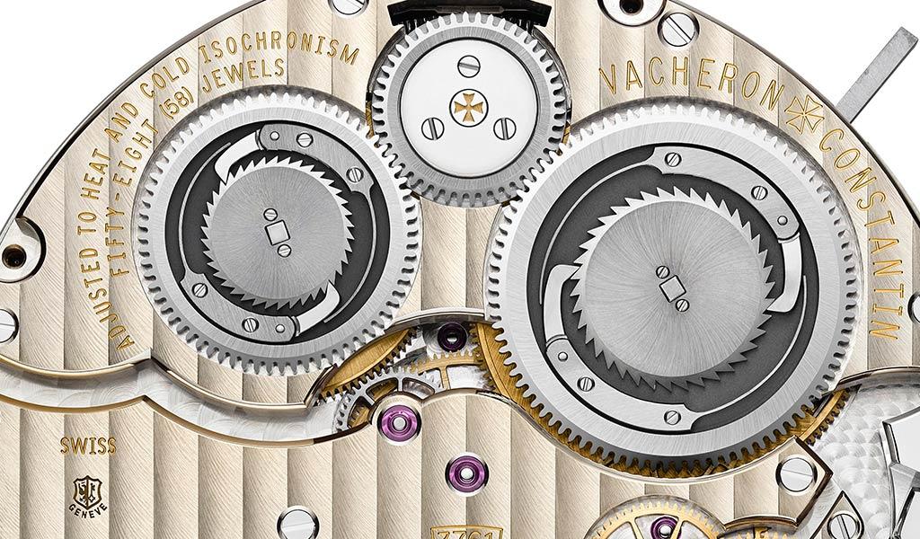 Часовой механизм с вестминстерским боем Vacheron Constantin