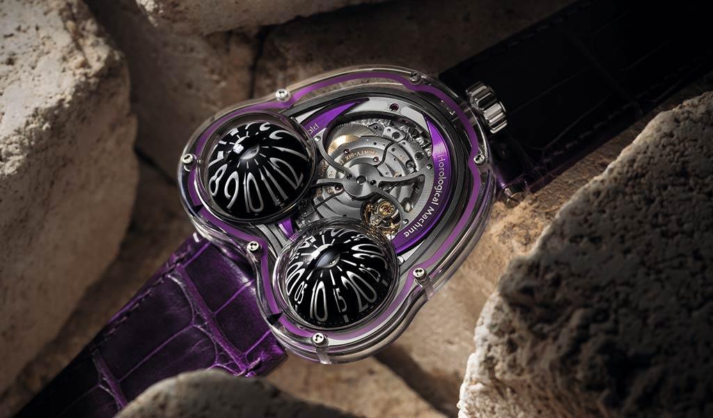 Часы швейцарские Horological Machine N°3 FrogX