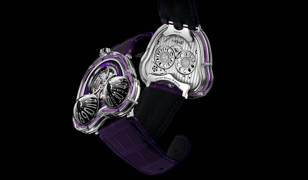 Новые швейцарские часы MB&F