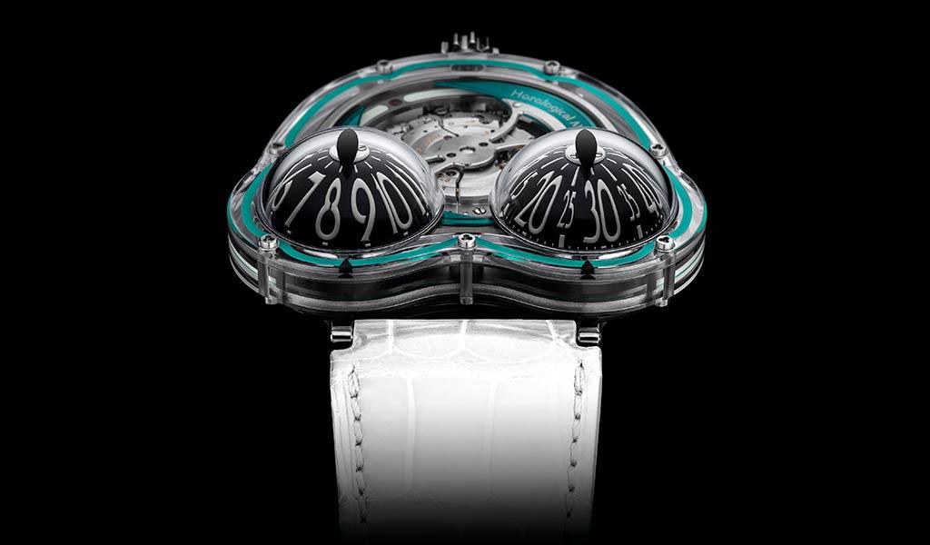 Новые швейцарские наручные часы MB&F