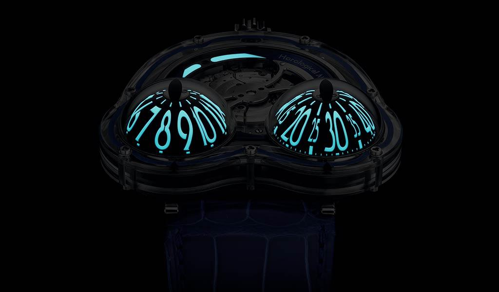 Новые наручные часы Horological Machine N°3 FrogX