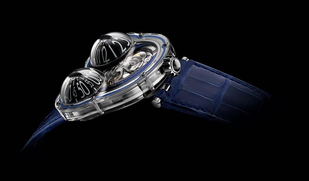 Новые швейцарские часы Horological Machine N°3 FrogX