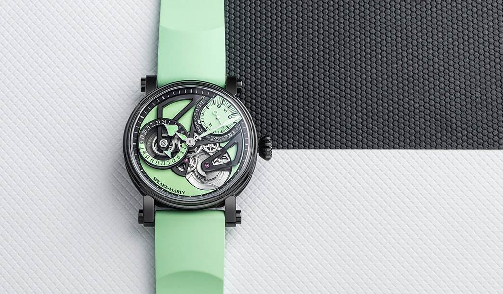 Новые механические часы Speake-Marin