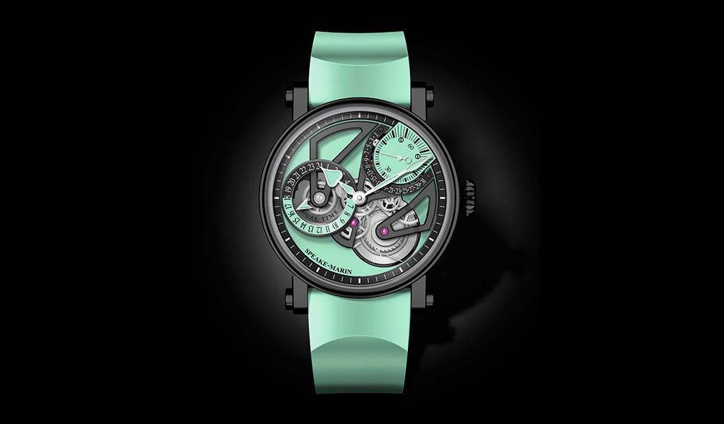 Часы с ретроградной датой Speake-Marin