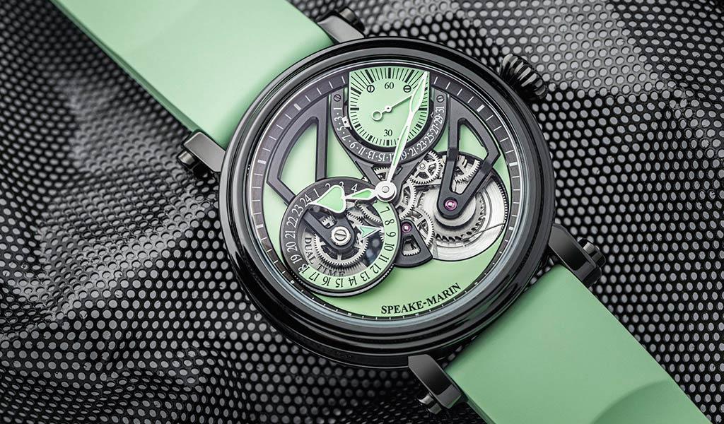 Наручные часы с двойным временем Speake-Marin