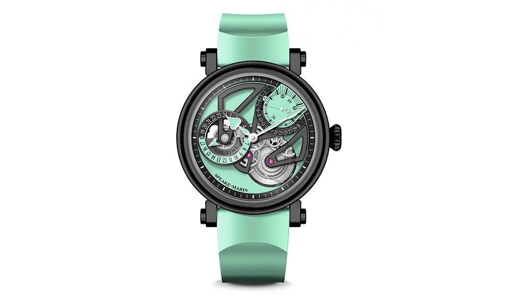 Новые механические наручные часы Speake-Marin