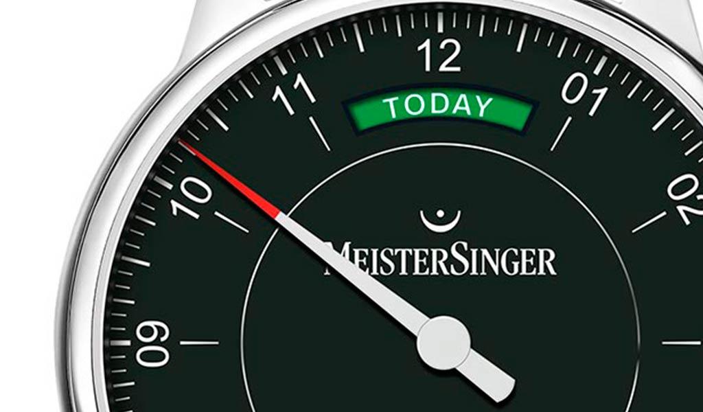 Наручные часы с одной стрелкой MeisterSinger