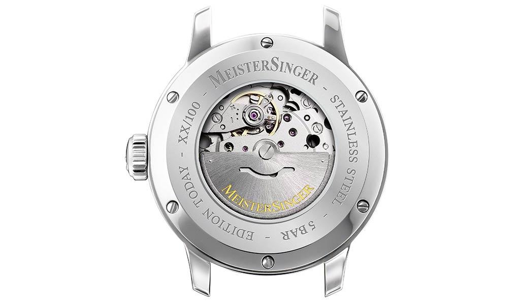 Однострелочные часы MeisterSinger