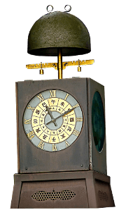Японские механические часы Вадокеи