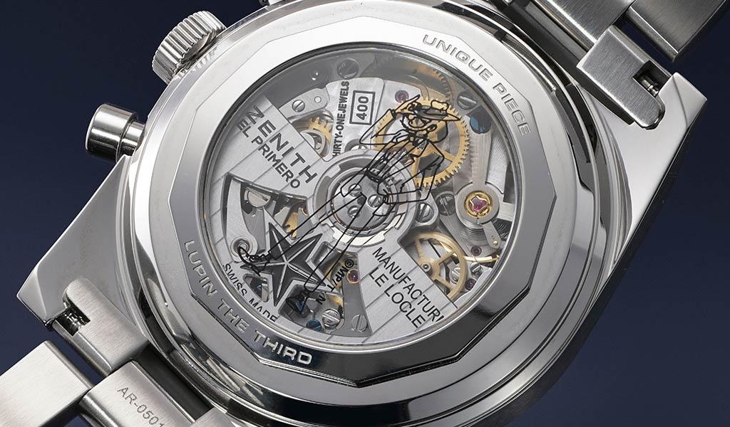 Швейцарские уникальные часы Zenith Chronomaster Revival Lupin The Third