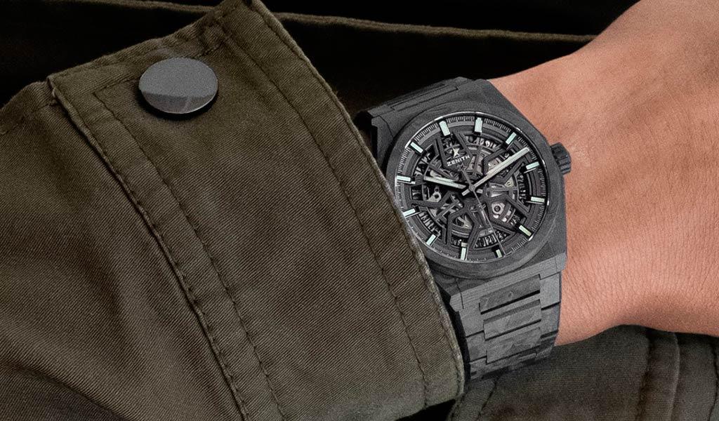 Наручные часы Zenith Defy Classic Carbon