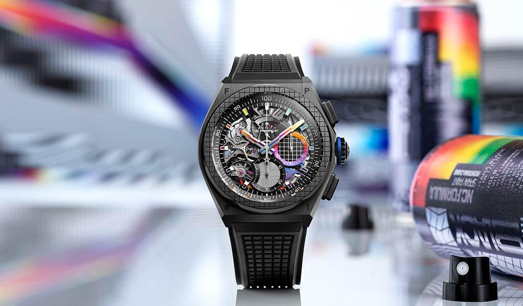 Новые часы DEFY 21 Felipe Pantone
