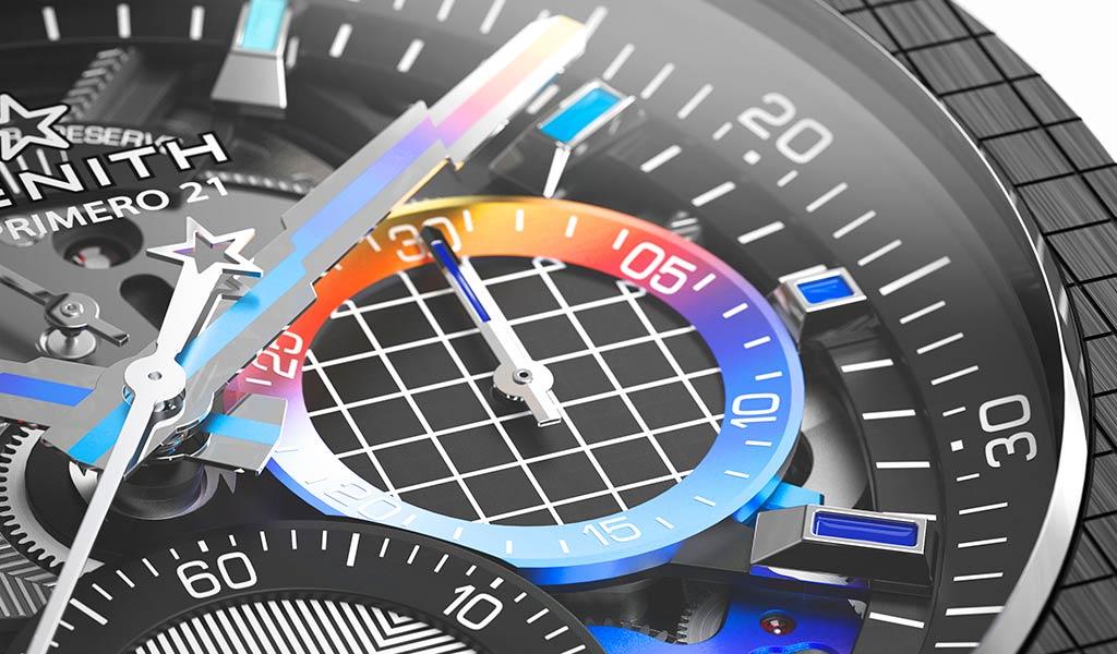 Механические часы DEFY 21 Felipe Pantone