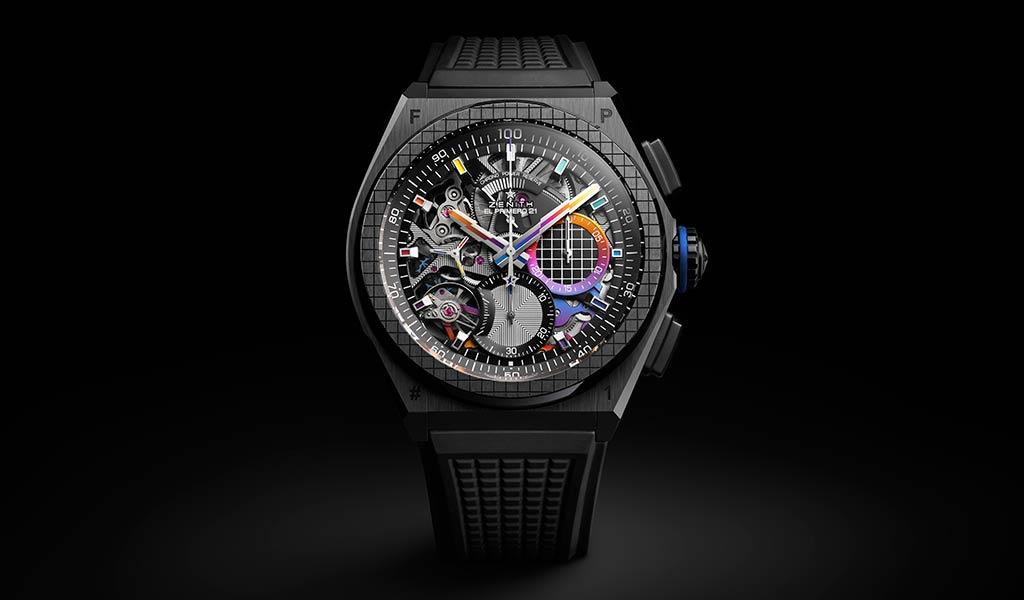 Швейцарские часы DEFY 21 Felipe Pantone