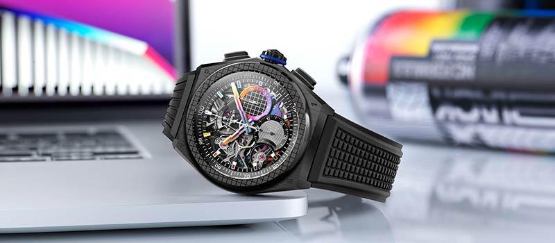 Zenith представляет первые часы, созданные в сотрудничестве с современным художником Фелипе Пантоне
