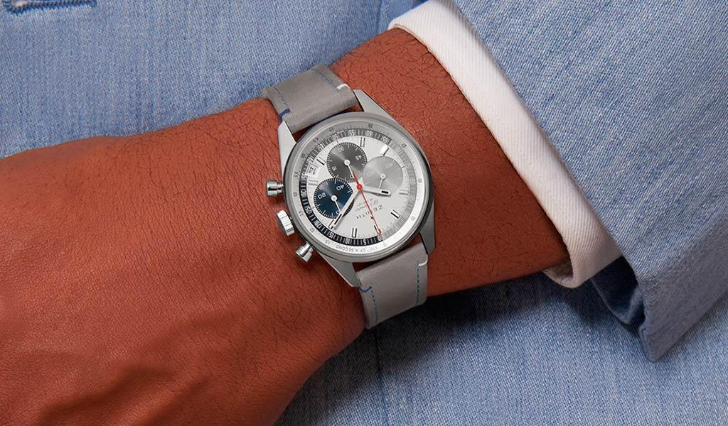 Швейцарские механические часы Zenith Chronomaster Original E-commerce edition
