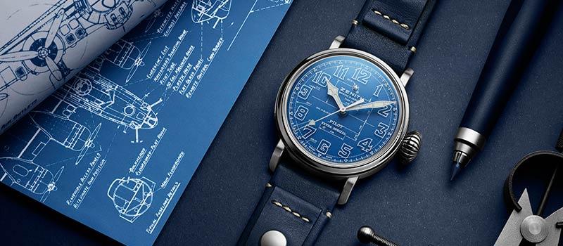 Наручные часы Pilot Type 20 Blueprint от Zenith