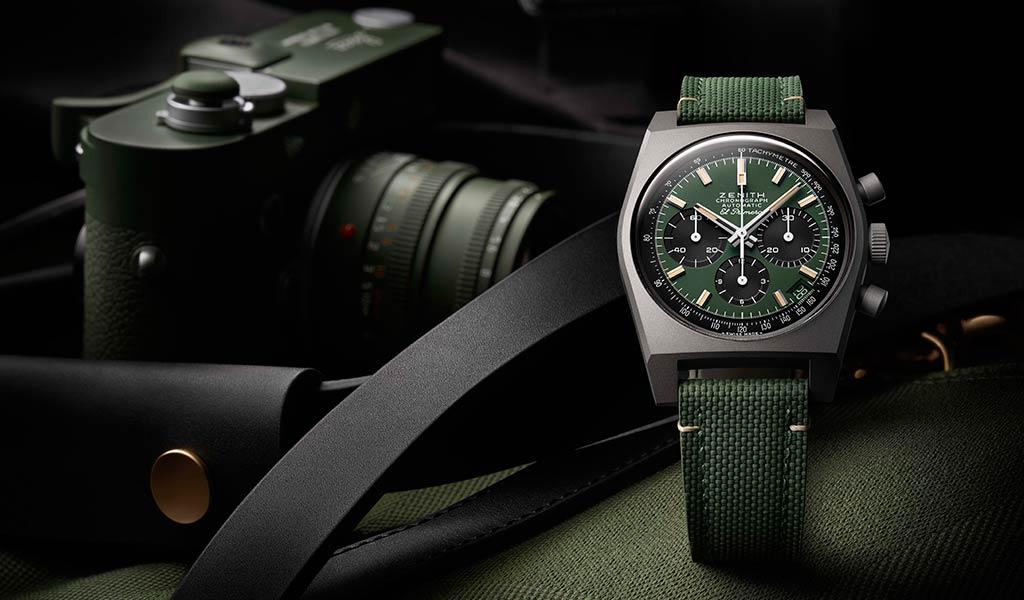 Швейцарские часы Chronomaster Revival Safari