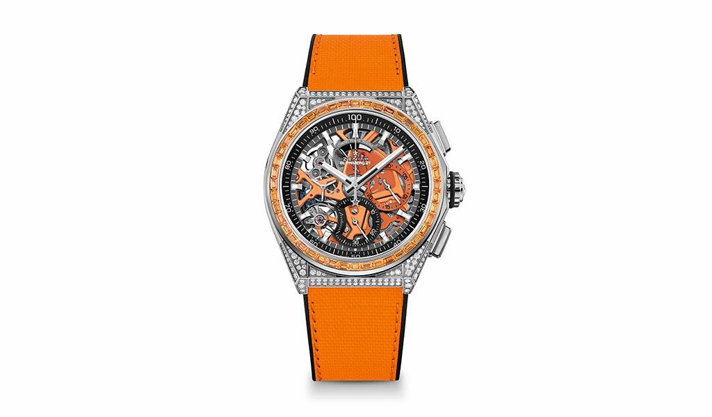 Новые швейцарские механические часы Zenith