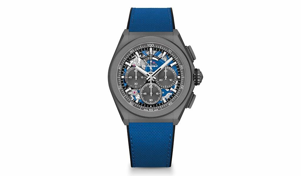 Новые часы Zenith DEFY 21 Ultrablue