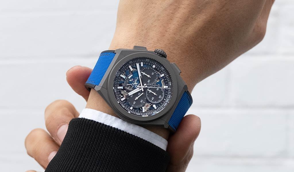Механические часы Zenith DEFY 21 Ultrablue