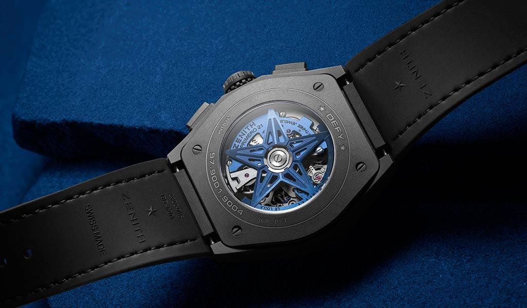 Швейцарские часы Zenith DEFY 21 Ultrablue