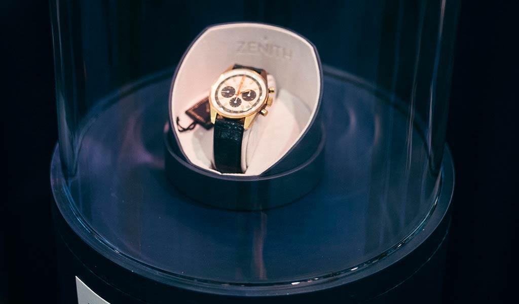 Коллекционные швейцарские часы Zenith