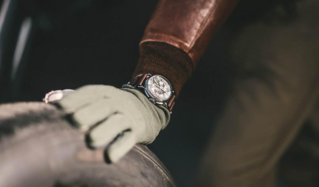 Часы для пилотов Pilot Type 20 Chronograph Silver