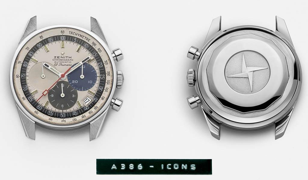 Винтажные швейцарские наручные часы Zenith