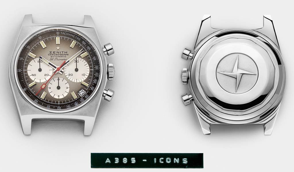 Швейцарские ретро часы Zenith