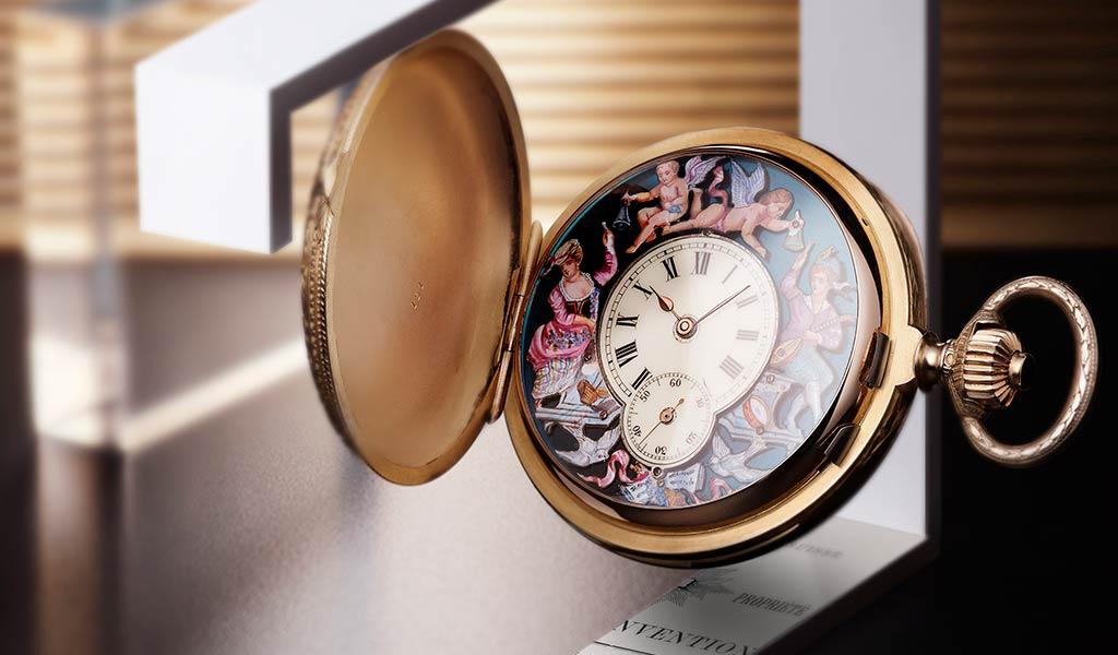 Карманные часы Jacquemart Jaeger-LeCoultre