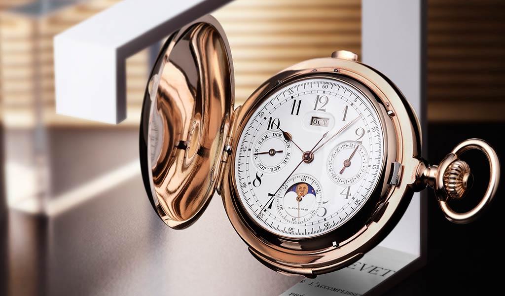 Карманные часы Minute Repeater Triple Complication