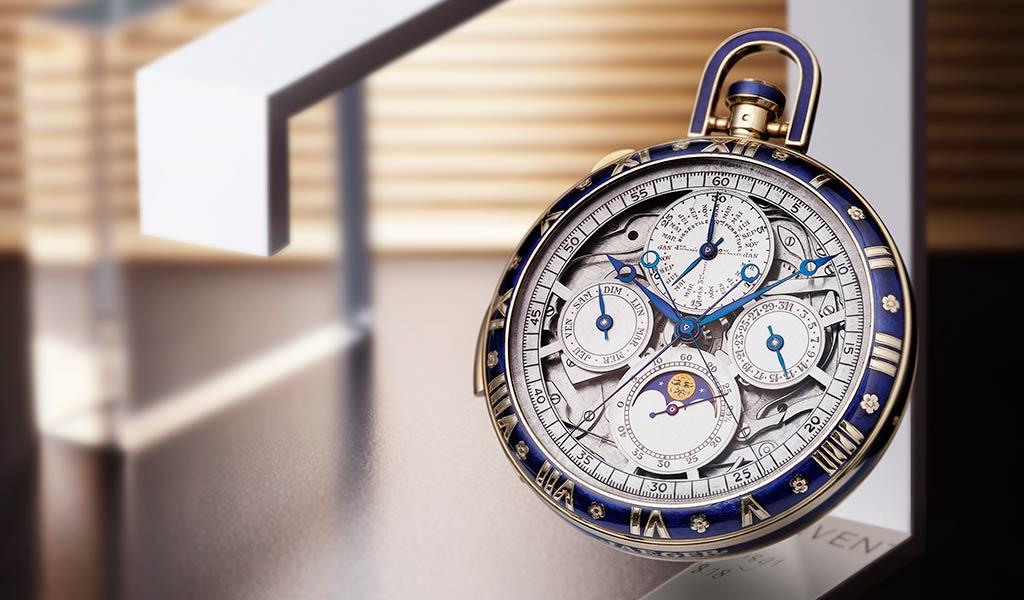 Карманные часы Lépine
